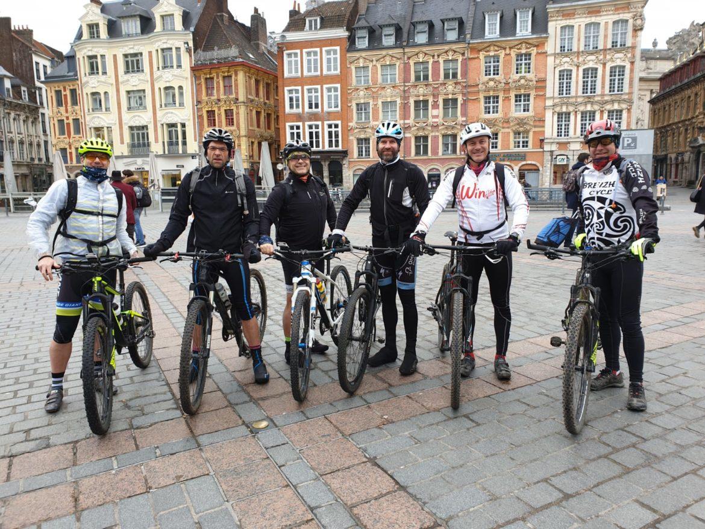1er repérage pour le WYZ Bike Challenge !